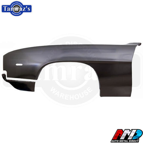 69 Camaro Front Fender with Extension AMD Tooling Lic. GM Restoration Part - LH