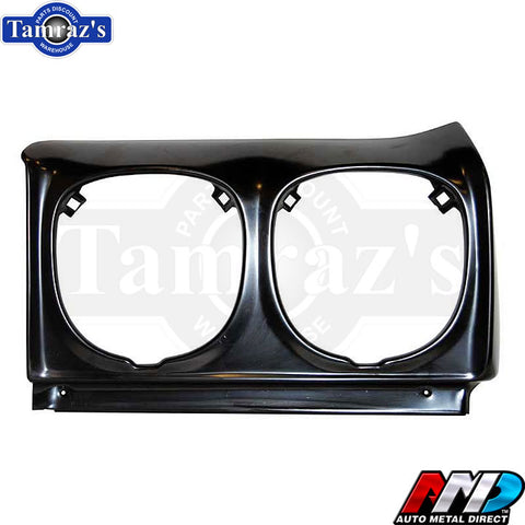 70 Chevelle Front FENDER Headlight Housing Surround EXTENSION - AMD - LH