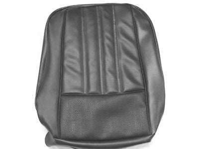 1968 Barracuda Deluxe Front Seat Upholstery Covers - Black New PUI