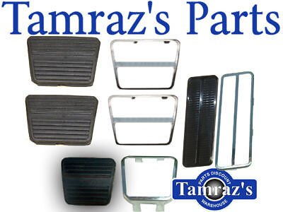 69-71 Camaro Pedal Pad Kit Manual Trans W/O Disc Brakes