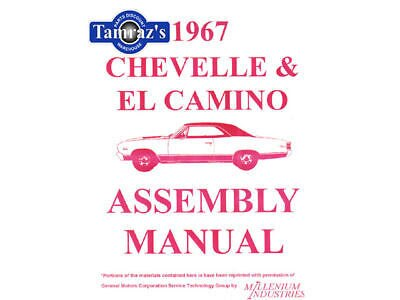 1967 67 Chevelle & El Camino Factory assembly manual UB