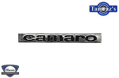 "1967 67 "" Camaro "" Header Nose Trunk Deck Lid Emblem EA"
