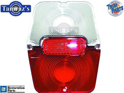 62-4 Chevy II Tail Light Lamp & Back Up Lens w/Gskt L/R