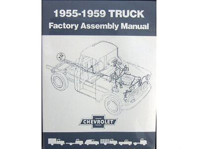 1955 56 57 1958 1959 Chevrolet Truck Assembly Manual BD