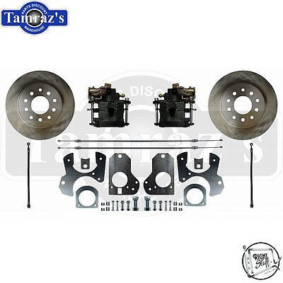 GM 78-88 A/G 82-92 F Body & S10 REAR Disc Brake Kit with Stock Style Rotors TRS