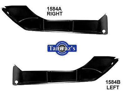 66 67 GTO LeMans Rear Trunk Floor to Lower Quarter Panel Extensions PAIR