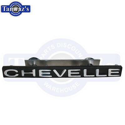 1971 Chevelle Grille Emblem  / Grill Name Plate