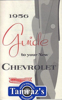 1956 56 Chevrolet Bel Air 150 210 Owners Manual New