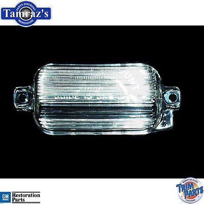 65 1965 Chevy Impala Caprice License Light Lens NEW
