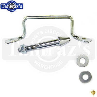 64-66 Mustang Hood Latch Pin & Safety Catch  - Golden Star