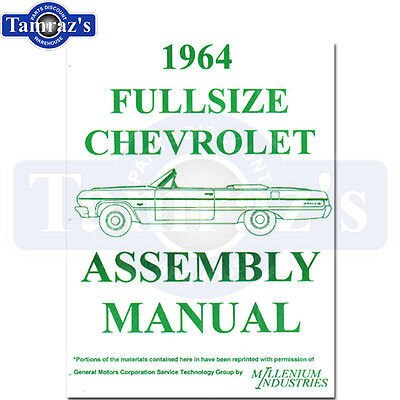 1964 Bel Air Biscayne Impala Factory Assembly Manual Loose Leaf UnBound New