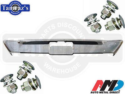 68-69 Dodge Dart Chrome Rear Bumper with Bolts - AMD Tooling