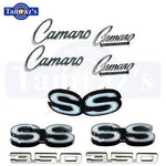 1968 Camaro 350 Super Sport Emblem Kit 68 New