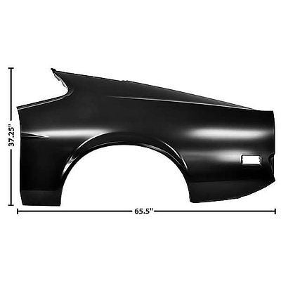 71-72 Mustang Fastback Full Style Quarter Panel  - Dynacorn - LH