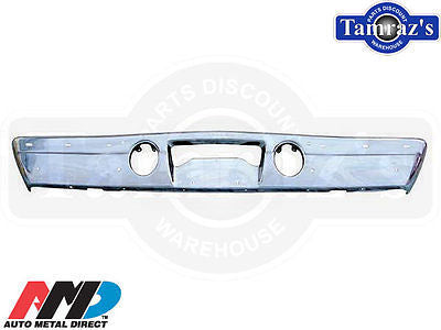1970 PLYMOUTH B-BODY Road Runner Front Bumper  - TRIPLE CHROME PLATED AMD