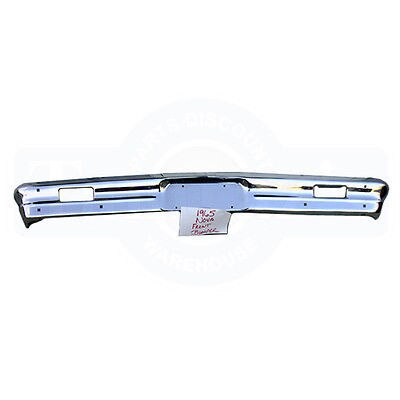 1965 Chevy II Nova Front Bumper Triple Chrome Plated New