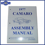 1977 Camaro Factory Assembly Manual New Loose Leaf UnBound