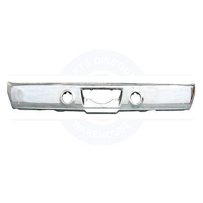 1970 PLYMOUTH B-BODY Rear Bumper  - TRIPLE CHROME PLATED AMD