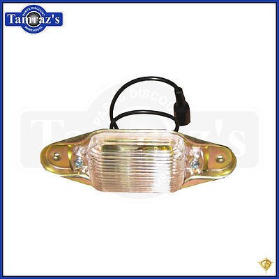 67-72 C/K 10/20 Pick Up Rear License Plate Lamp Light Assembly - GoldenStar