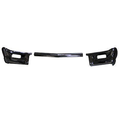 1964 Impala Bel Air Biscayne Front Bumper 3 Pieces Triple Chrome Plated