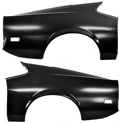 71-72 Mustang Fastback Full Style Quarter Panel  - Dynacorn - PAIR