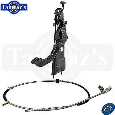 67-72 Chevy C/K Truck Parking Brake Pedal Assembly with primary Cable