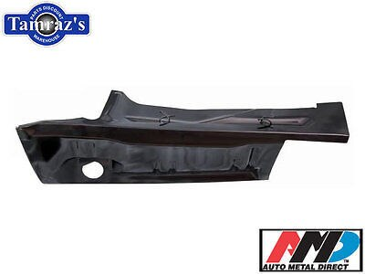 71-74 Plymouth B Body Trunk Floor Quarter Extension LH - AMD