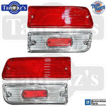 64 Malibu Tail Light Back Up Reverse Lamp Lens Set USA