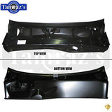 68 F-Body NO A/C Lower Windshield Cowl Panel Upper Firewall Assembly - Legion