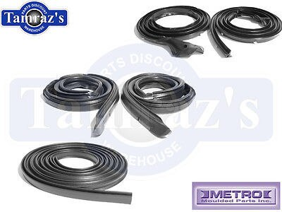 68-69 Mopar Plymouth B Body Weatherstrip Seal Kit Coupe Post 5 Pcs USA MADE