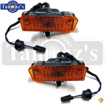 68-9 Nova Front Parking Turn Signal Light Lamp Lens Housing Assembly - PR Legion