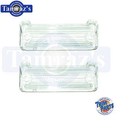 66 67 Caprice 1966 Impala Back Up Light Lamp Lens 1 PAIR