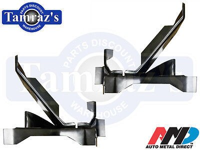 66-70 Mopar B Body Rear Leaf Spring Mount Perch FRONT - Pair LH & RH AMD New