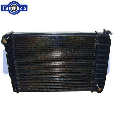 "67-69 Camaro 3 core 23"" Radiator Automatic Transmission Copper USA"