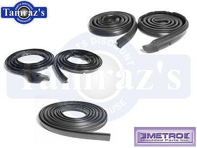 68-69 Mopar Plymouth B Body Weatherstrip Seal Kit Hardtop Without Post 5 Pcs