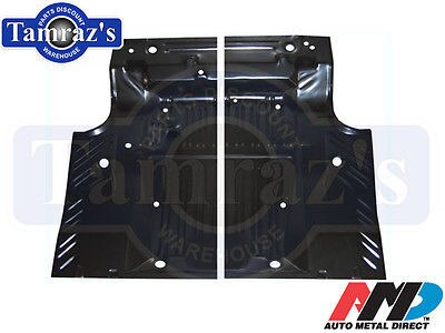 68-70 Coronet Road Runner GTX Satellite Trunk Floor Pan Side - Pair LH & RH AMD