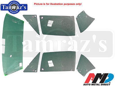 67 F-Body CONV'T Windshield Window Vent Rear Door Quarter Glass KIT - Tinted AMD