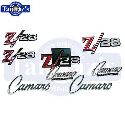 1969 Camaro Z-28 Z28 Emblem Kit 69 New