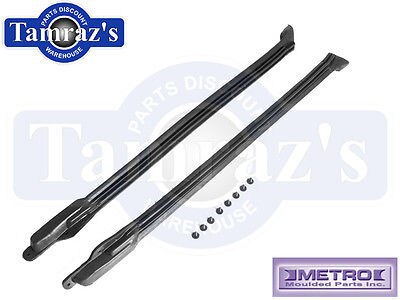 66-8 A & B Body Convertible Pillar Post Weatherstrip Seals Metro CZ8104 USA MADE