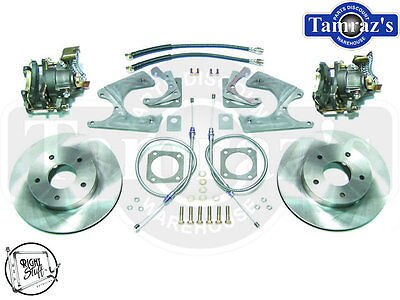 68-74 F&X Body REAR Disc Brake Kit Stock Rotors For C-CLIP ELIMINATOR models TRS