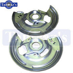 67-8 GM A F Body Frt Disc Brake Backing Plate 4 Piston
