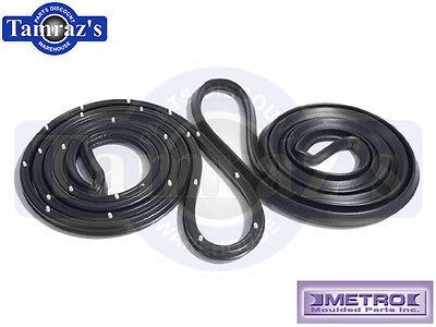 62-7 Chevy II Nova Door Weatherstrip Seal Front 4 Dr Sedan LM20L Metro USA MADE