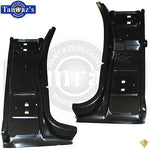 "68-70 Mopar B-Body Lower Front Inner Door Jamb "" A "" Pillar at Hinge - Legion PR"