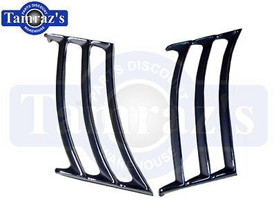 69 Camaro Rear Quarter Panel Louvers Pair New