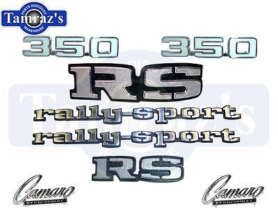 1969 Camaro Rally Sport 350 Emblem kit 69 RS Grille
