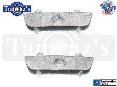 60 Impala El Camino Parking Turn Light Lamp Lens  SET