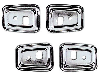 68 69 Camaro 1969  Door Handle Grab Bar Bezels 1 SET