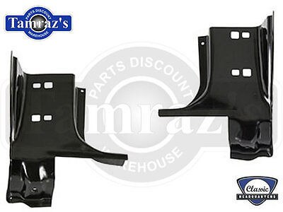 "67-69 F-Body Lower Front Inner Door Jamb "" A "" Pillar at Lower Hinge  -  PAIR"
