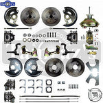 68-69 F Body 68-74 X Body 4 Wheel POWER Disc Brake Conversion Kit