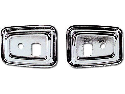 68 69 Camaro Firebird Door Handle Grab Bar Bezels